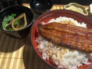 恒例の鰻丼
