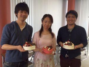 5月に誕生日を迎えた3名